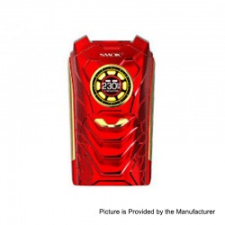 Authentic SMOKTech SMOK I-PRIV 230W TC VW Variable Wattage Box Mod - Red, 1~230W, 2 x 18650 / 20700 / 21700