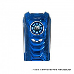 Authentic SMOKTech SMOK I-PRIV 230W TC VW Variable Wattage Box Mod - Prism Blue, 1~230W, 2 x 18650 / 20700 / 21700