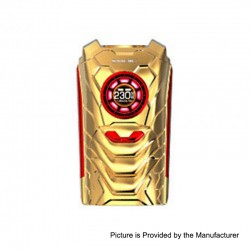 Authentic SMOKTech SMOK I-PRIV 230W TC VW Variable Wattage Box Mod - Prism Gold, 1~230W, 2 x 18650 / 20700 / 21700