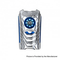 Authentic SMOKTech SMOK I-PRIV 230W TC VW Variable Wattage Box Mod - Prism Chrome, 1~230W, 2 x 18650 / 20700 / 21700
