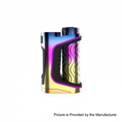 Authentic Eleaf iStick Pico S 100W TC VW Variable Wattage Box Mod - Rainbow, 1 x 18650 / 21700