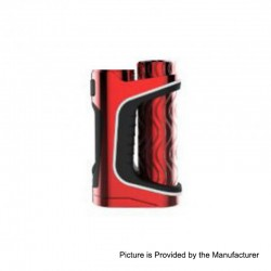 Authentic Eleaf iStick Pico S 100W TC VW Variable Wattage Box Mod - Red, 1~100W, 1 x 18650 / 21700