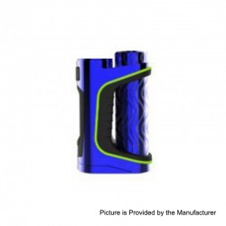 Authentic Eleaf iStick Pico S 100W TC VW Variable Wattage Box Mod - Blue, 1~100W, 1 x 18650 / 21700