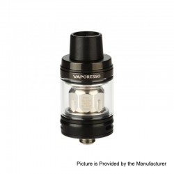 Authentic Vaporesso NRG SE Sub Ohm Tank Clearomizer - Black, Stainless Steel, 3.5ml, 22mm Diameter