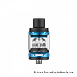Authentic Vaporesso NRG Mini Sub Ohm Tank Clearomizer - Blue, Stainless Steel, 2ml, 23mm Diameter
