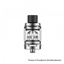 Authentic Vaporesso NRG Mini Sub Ohm Tank Clearomizer - Silver, Stainless Steel, 2ml, 23mm Diameter