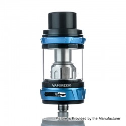 Authentic Vaporesso NRG Sub Ohm Tank Clearomizer - Blue, Stainless Steel, 5ml, 26.5mm Diameter