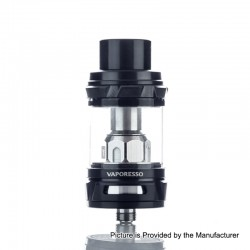 Authentic Vaporesso NRG Sub Ohm Tank Clearomizer - Black, Stainless Steel, 5ml, 26.5mm Diameter