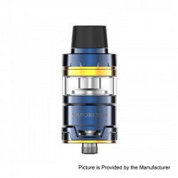 Authentic Vaporesso Cascade Mini Sub Ohm Tank Clearomizer - Blue, Stainless Steel, 3.5ml, 22mm Diameter