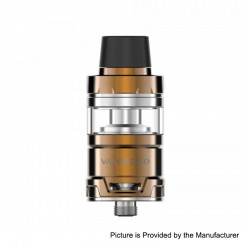 Authentic Vaporesso Cascade Mini Sub Ohm Tank Clearomizer - Gold, Stainless Steel, 3.5ml, 22mm Diameter
