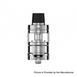 Authentic Vaporesso Cascade Baby Sub Ohm Tank Clearomizer - Silver, Stainless Steel, 5ml, 24.5mm Diameter