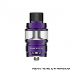 Authentic Vaporesso Cascade Baby SE Sub Ohm Tank Clearomizer - Purple, Stainless Steel, 6.5ml, 24.5mm Diameter