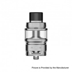 Authentic Vaporesso Cascade Baby SE Sub Ohm Tank Clearomizer - Silver, Stainless Steel, 6.5ml, 24.5mm Diameter