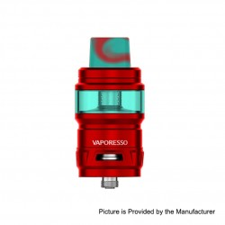 Authentic Vaporesso Cascade SE Sub Ohm Tank Clearomizer - Red, Stainless Steel, 7ml, 25mm Diameter