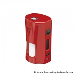 Authentic Desire RAGE 155W TC VW Variable Wattage Squonk Box Mod - Red, 5~155W, 2 x 18650, 7ml