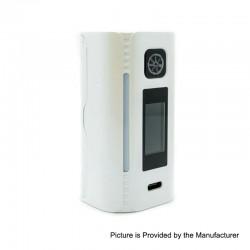 Authentic Asmodus Lustro 200W Touch Screen TC VW Variable Wattage Box Mod - White, 5~200W, 2 x 18650