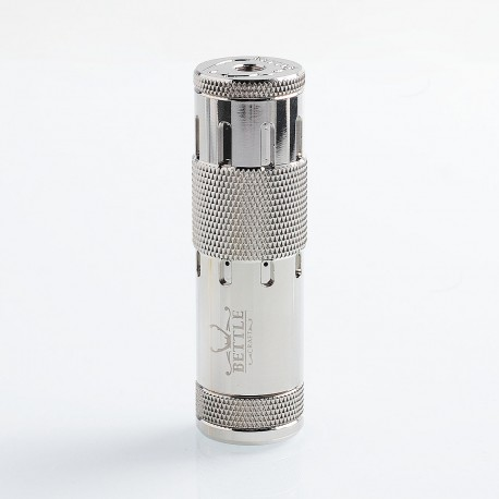 Bettle V3 Style Hybrid Mechanical Mod - Silver, Brass, 1 x 18650
