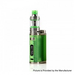 Authentic Eleaf iStick Pico Resin 75W TC VW Variable Wattage Box Mod + Melo 4 Tank Kit - Green, 1~75W, 1 x 18650, 2ml