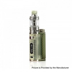 Authentic Eleaf iStick Pico Resin 75W TC VW Variable Wattage Box Mod + Melo 4 Tank Kit - Grey, 1~75W, 1 x 18650, 2ml