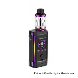 Authentic Innokin Proton 235W TC VW Variable Wattage Box Mod + Scion II Tank Kit - Rainbow, 6~235W, 2 x 18650, 3.5ml