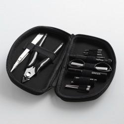 Authentic Vandy Vape Tool Kit Pro for DIY Coil Building - Tweezers + Screwdrivers + Coiling Kit + Scissors + Pliers