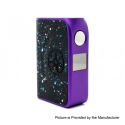 Authentic Asmodus Minikin Boost 155W TC VW Variable Wattage Box Mod - Purple, 5~155W, 2 x 18650