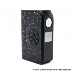 Authentic Asmodus Minikin Boost 155W TC VW Variable Wattage Box Mod - Black, 5~155W, 2 x 18650