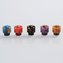 510 Replacement Drip Tip for RDA / RTA / Sub Ohm Tank - Random Color, Resin, 12.6mm