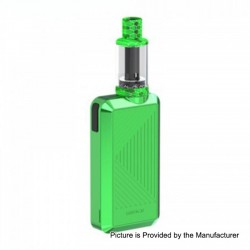 Authentic Joyetech Batpack Box Mod + Joye ECO D16 Tank Kit - Green, 2 x AA Batteries, 0.5 Ohm, 2ml