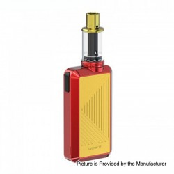 Authentic Joyetech Batpack Box Mod + Joye ECO D16 Tank Kit - Red + Gold, 2 x AA Batteries, 0.5 Ohm, 2ml