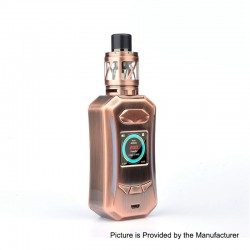 Authentic Pioneer4You IPV Trantor TC VW Variable Wattage Box Mod + LXV4 Tank Kit - Bronze, 5~200W, 2 x 18650, 2ml