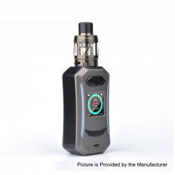 Authentic Pioneer4You IPV Trantor TC VW Variable Wattage Box Mod + LXV4 Tank Kit - Gun Metal, 5~200W, 2 x 18650, 2ml