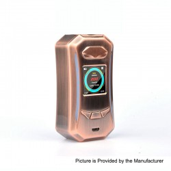 Authentic Pioneer4You IPV Trantor TC VW Variable Wattage Box Mod - Bronze, 5~200W, 2 x 18650
