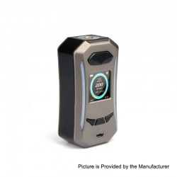 Authentic Pioneer4You IPV Trantor TC VW Variable Wattage Box Mod - Gun Metal, 5~200W, 2 x 18650