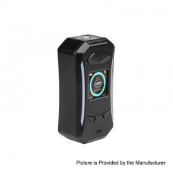 Authentic Pioneer4You IPV Trantor TC VW Variable Wattage Box Mod - Black, 5~200W, 2 x 18650