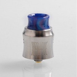 Authentic Wotofo Recurve RDA Rebuildable Dripping Atomizer w/ BF Pin - Silver, Stainless Steel, 24mm Diameter