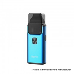 Authentic Aspire Breeze 2 1000mAh All-in-One Starter Kit - Blue, 0.6 Ohm / 1 Ohm, 2ml