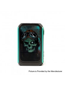 Authentic Vzone Graffiti 220W TC VW Variable Wattage Box Mod - Gun Metal, 7~220W, 2 x 18650
