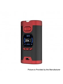 Authentic HCigar Wildwolf 235W TC VW Variable Wattage Box Mod - Red, 5~235W, 2 x 18650