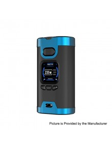 Authentic HCigar Wildwolf 235W TC VW Variable Wattage Box Mod - Blue, 5~235W, 2 x 18650