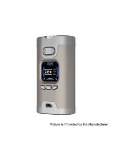 Authentic HCigar Wildwolf 235W TC VW Variable Wattage Box Mod - Silver, 5~235W, 2 x 18650