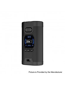 Authentic HCigar Wildwolf 235W TC VW Variable Wattage Box Mod - Black, 5~235W, 2 x 18650