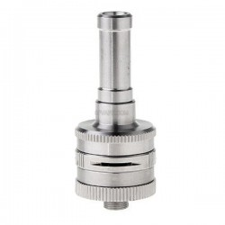 Authentic Innokin iTaste VF RDA Rebuildable Dripping Atomizer - Silver, Stainless Steel, 23mm diameter
