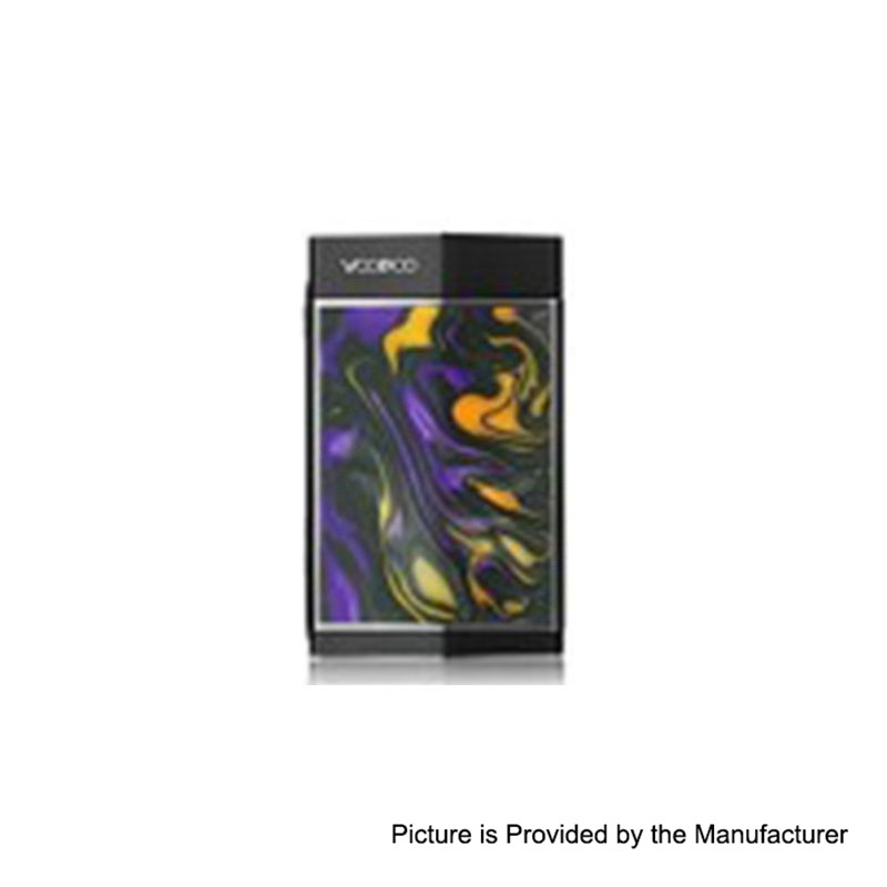 Authentic VOOPOO TOO Resin 180W Black Amber TC VW Box Mod