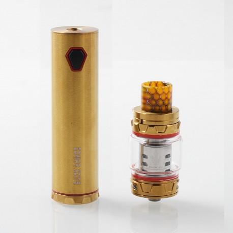 Authentic SMOKTech SMOK Stick Prince 100W 3000mAh Mod + TFV12 Prince Tank Kit - Gold, 8ml, 28mm Diameter