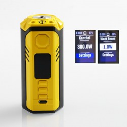 Authentic ThinkVape Finder DNA250C TC VW Variable Wattage Box Mod - Yellow, 1~300W, 3 x 18650, Evolv DNA 250C Chip