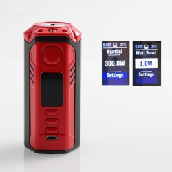 Authentic ThinkVape Finder DNA250C TC VW Variable Wattage Box Mod - Red, 1~300W, 3 x 18650, Evolv DNA 250C Chip