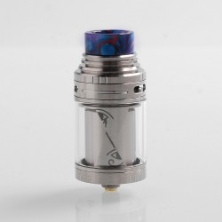 Authentic Vapefly Horus RTA Rebuildable Tank Atomzier - Silver, Stainless Steel, 4ml, 25mm Diameter