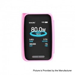 Authentic SMOKTech SMOK X-Priv Baby 80W 2300mAh TC VW Variable Wattage Box Mod - Auto Pink, 1~80W