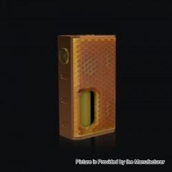 Authentic Wismec Luxotic 100W Squonk Box Mod - Bronze Honeycomb, 7.5ml, 1 x 18650
